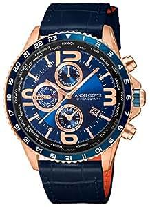[エンジェルクローバー]Angel Clover 腕時計 MONDO ネイビー文字盤 ワールドタイマー クロノグラフ MO44PNV-NV メンズ