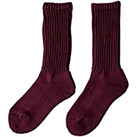 [ロトト] RoToTo Loose pile socks ルーズ パイルソックス・r1014 25-27cm(men's) / burgundy