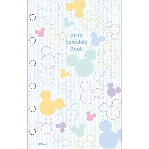 サンスター文具 ディズニー 手帳リフィール 2018年 10月始まり ポケット ミッキーマーク S2941538