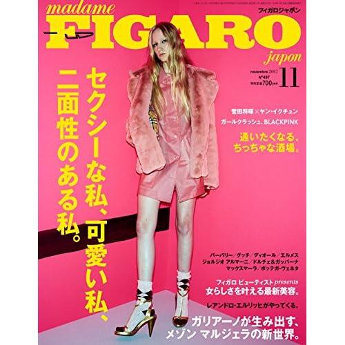 madame FIGARO japon (フィガロ ジャポン) 2017年11月号 [特集:セクシーな私、可愛い私、二面性のある私。/菅田将暉×ヤン・イクチュン]