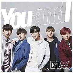 B1A4「Blue Moon」の歌詞を収録したCDジャケット画像