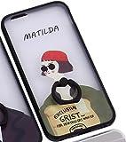 iPhone6/6S 選べる かわいい バリエーション リング ミラー ケース & 強化ガラス セット J's™ (マチルダ(Type B))