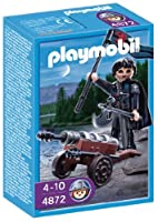 Playmobil 4872 Robber Knight with Cannon [並行輸入品]