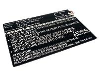 7300mAhバッテリーfor Acer Iconiaタブp3–171、1icp4/ 83/ 103–2