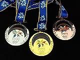 アウトドア用品 長野オリンピック 金メダル・銀メダル・銅メダル レプリカフルセット 冬季五輪
