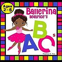 "Ballerina Beatrice's ABCs: Natural Hair Alphabet Picture Book, (8.5"" x 8.5"")"