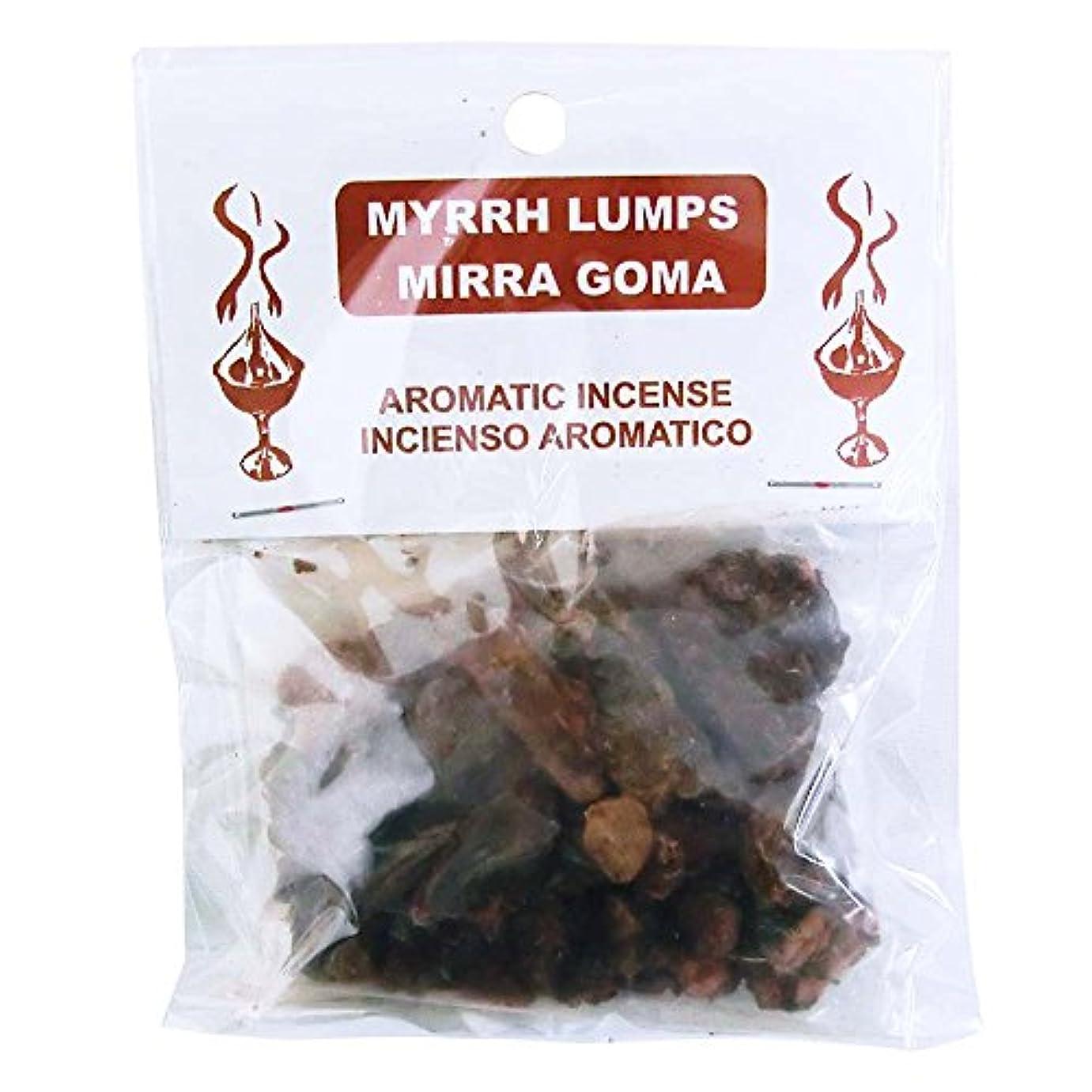 しなければならないフラスコもっともらしい3KINGS Resin Incense(ヨルダンの聖別香) Myrrh Lumps