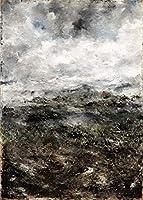 August Strindberg ジクレー キャンバスに印刷 -有名な絵画 美術品 ポスター-再生 壁の装飾(スウェーデンアルプスケープアルプスの風景I) #XFB