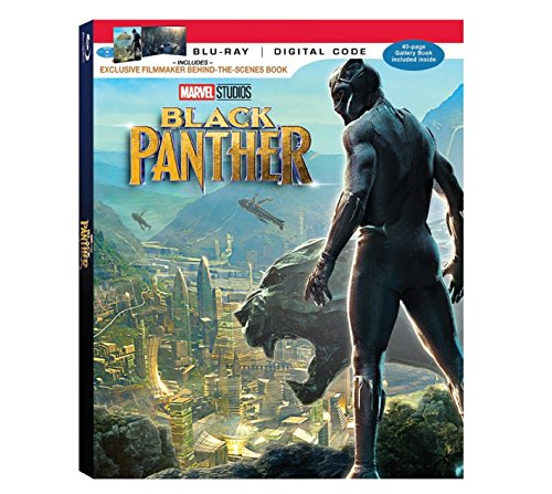 Marvel's Black Panther Limited Edition (Blu-ray + Digital) Includes Exclusive Filmmaker Behind-The-Scenes Book - Imported from America.