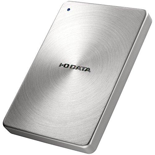 I-O DATA ポータブルハードディスク「カクうす」 USB 3.0/2.0対応 2.0TB シルバー HDPX-UTA2.0S