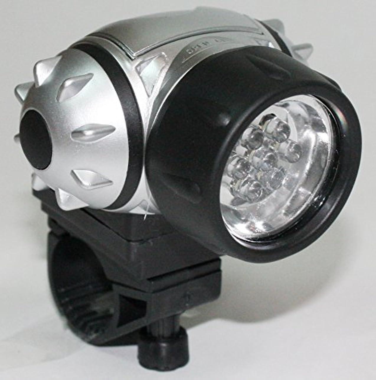 ラオス人アクセント目に見える7灯LED 防滴サイクルヘッドライト 自転車用前照灯 SA-00018