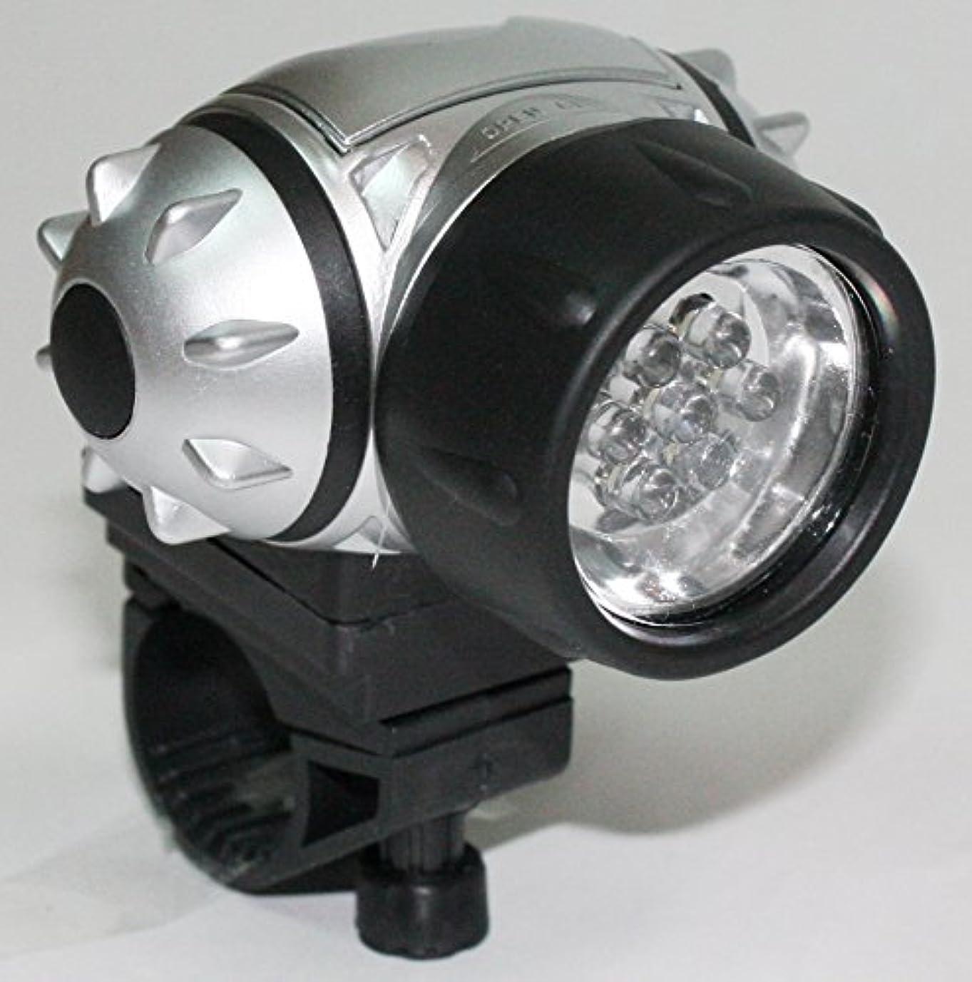 コンテスト広範囲葉7灯LED 防滴サイクルヘッドライト 自転車用前照灯 SA-00018