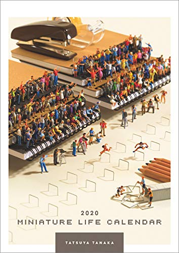 MINIATURE LIFE CALENDAR 2020年 カレンダー 壁掛け CL-476