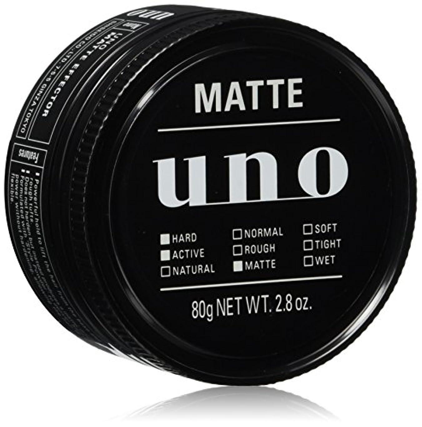 対処するプログレッシブ例外ウーノ マットエフェクター ワックス 80g