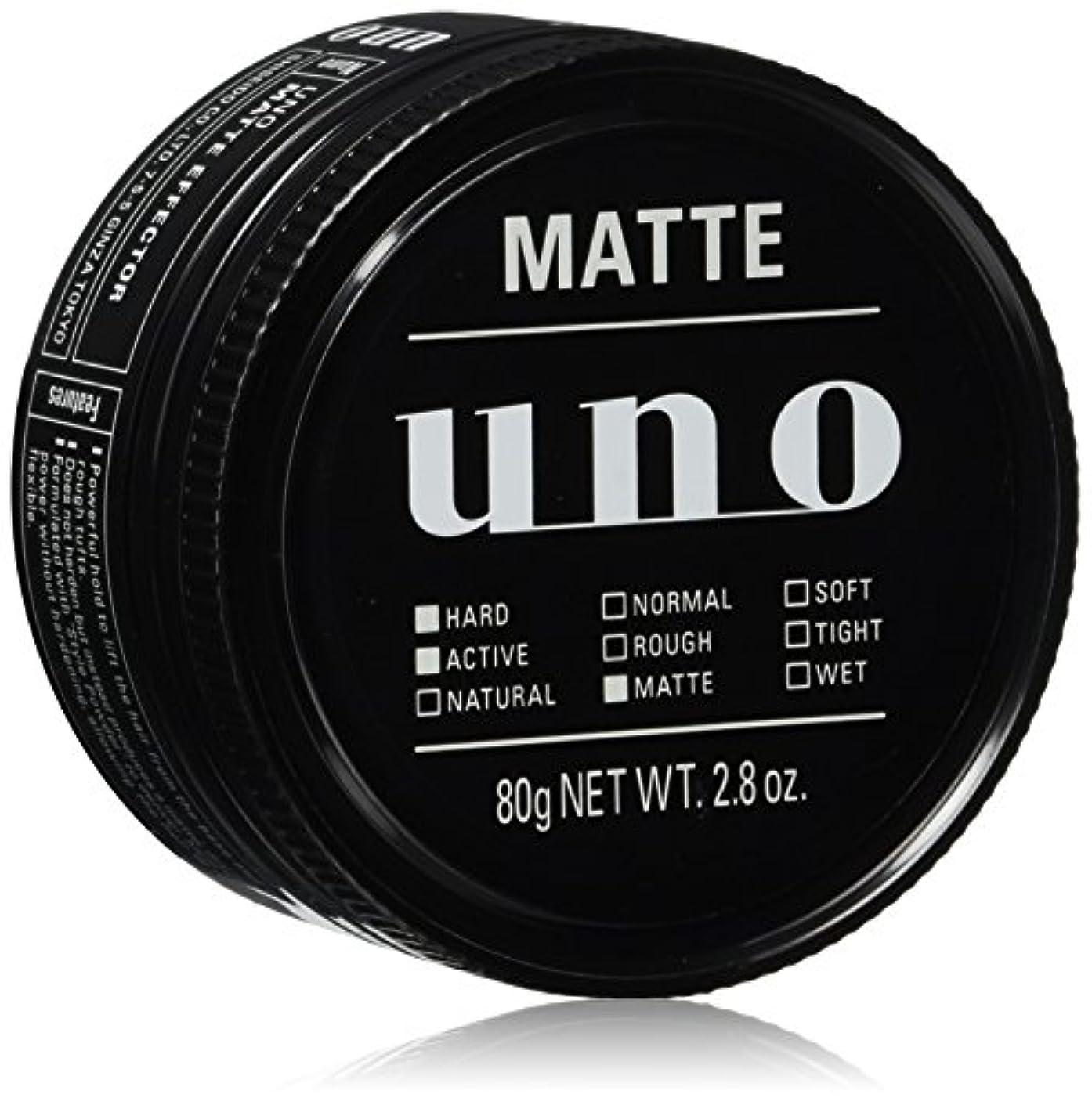 適応する血色の良い称賛ウーノ マットエフェクター ワックス 80g