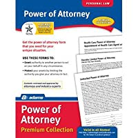 電源の弁護士フォームと指示のパック(セット6) [ Set of 6]
