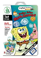 LeapFrog LeapPad Plus Writing Educational Book: SpongeBob SquarePants - Brainy, Briny Math Games by LeapFrog Enterprises