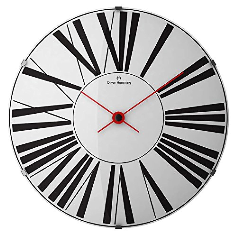オリバーヘミング 壁掛け時計 イギリスブランド 370mm W370DG53W [並行輸入品]