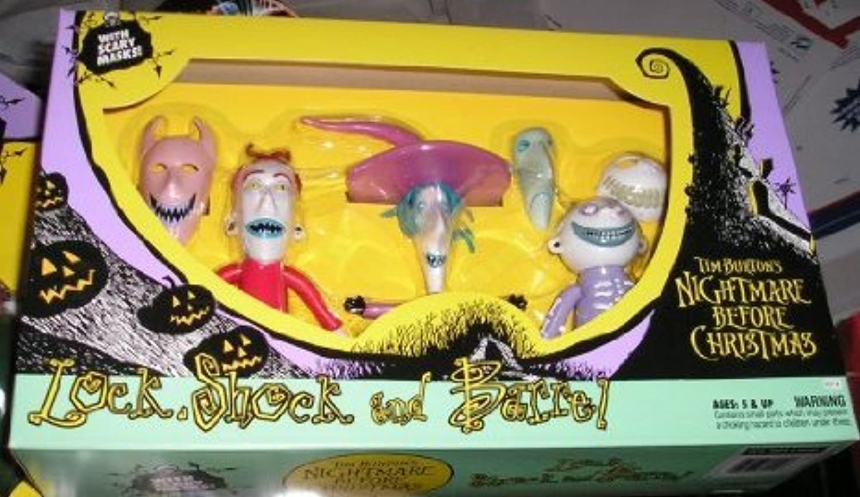 Original 1993 Nightmare Before Christmas (ナイトメア?ビフォア?クリスマス) LOCK SHOCK BARREL アクションフィギュア by Hasbro(並行輸入)