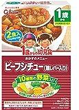 グリコ 1歳からの幼児食 ビーフシチュー(鶏レバー入り)×5箱