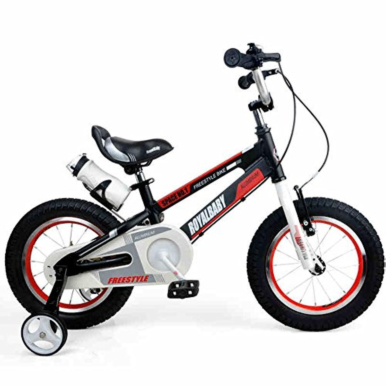YANFEI 子ども用自転車 子供用自転車アルミ12インチベビーカー誕生日ギフト 子供用ギフト