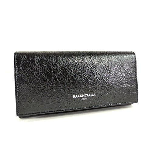BALENCIAGA(バレンシアガ) 二つ折り 長財布 EX NAVY MONEY 419806 [並行輸入品]