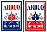 ARRCO 2018再印刷Playing Cardsブルー&レッドポーカーサイズデッキUSPCC Limited Edition