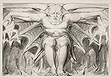 William Blakeジクレープリント アート紙 アートワーク 画像 ポスター 複製(ウィリアム・ブレイクEnglish A Destroying Deity)