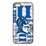 NCAA DukeブルーDevilsロゴfor iphone5 / 5s Bestゴムカバーcase-creative New Life badvgva gsd