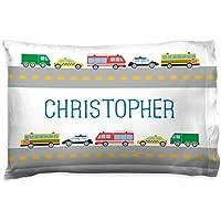 ChalkTalkSPORTS Personalized子供用枕カバー|車カスタム名