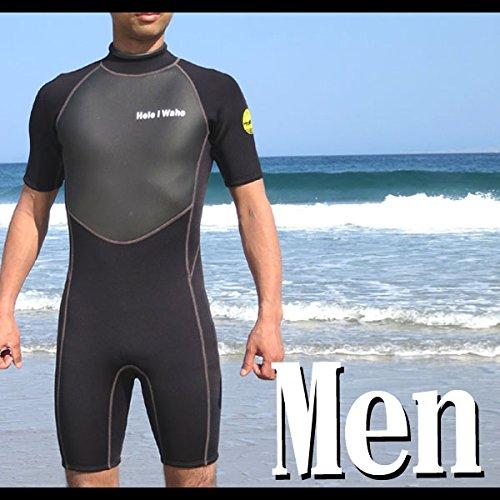 [해외]남성 3mm 스프링 HeleiWaho 헤레이와호 3mm 쇼티 슈퍼 스트레치/Men`s 3mm Spring HeleiWaho Haleiwa Ho 3mm Shortie Super Stretch