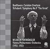 ベートーヴェン : 「コリオラン」序曲   シューベルト : 交響曲 第9番 「ザ・グレイト」 (Beethoven : Coriolan Overture   Schubert : Symphony No.9 ''The Great'' / Wilhelm Furtwangler   Vienna Philharmonic Orchestra (1951, 1953)) [CD] [国内プレス] [日本語帯・解説付]