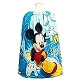 ミッキーマウス 男の子 ラップタオル 60cm キッズ 巻きタオル 着替え 子供
