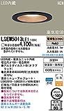 Panasonic LED軒下ダウンライト(60形電球1灯相当)電球色(オフブラック) LSEW5013LE1