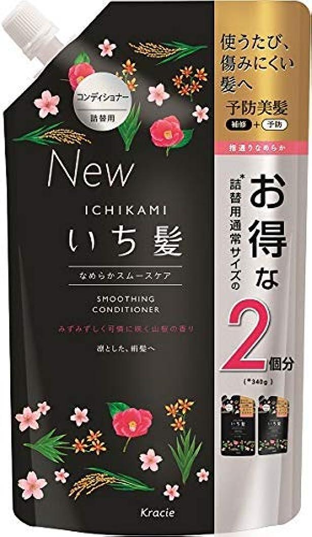 初期のお嬢松の木いち髪 なめらかスムースケアコンディショナー詰替用2回分 × 6個セット