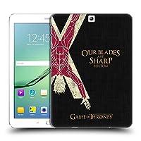 オフィシャルHBO Game Of Thrones Bolton ハウス・モットー ハードバックケース Samsung Galaxy Tab S2 9.7