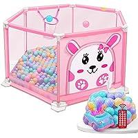 ベビープレイペン 赤ちゃんフェンス屋内幼児フェンスホームセーフティフェンス子供遊び場サイズ:(110cm×55cm) (色 : Style1)