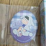 一番くじ おそ松さん 白黒うさぎのイースター J賞 イースターエッグ缶バッジ 等身 一松