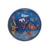 Disney ファインディングドリー ニモ かわいい 壁掛け時計 ディズニー グッズ ウォールクロック 時計 (マリンブルー)