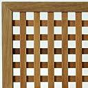 ウリン材 特注ラティスフェンス匠(目隠し)縦横格子 木製(高さ+横幅=合計270cm以内)(高耐久ウッドフェンス)日本製