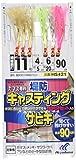 ハヤブサ(Hayabusa) カマス専科 キャスティングサビキ3本鈎2セット 10-4 HS421-10-4