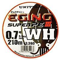 ユニチカ(UNITIKA) ライン キャスライン エギングスーパーPEⅢ WH 210m 0.6号