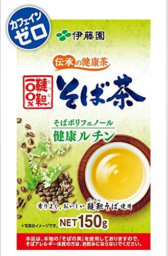 伊藤園 伝承の健康茶 韃靼100%そば茶 150g