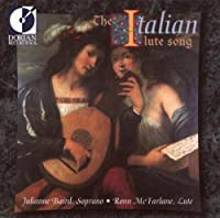 THE ITALIAN LUTE SONGS