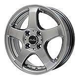 MINERVA(ミネルバ) スタッドレスタイヤ&ホイール Polarice 1スタッドレス 165/65R13 KIRCHEIS(キルヒアイス) 13インチ 4本セット