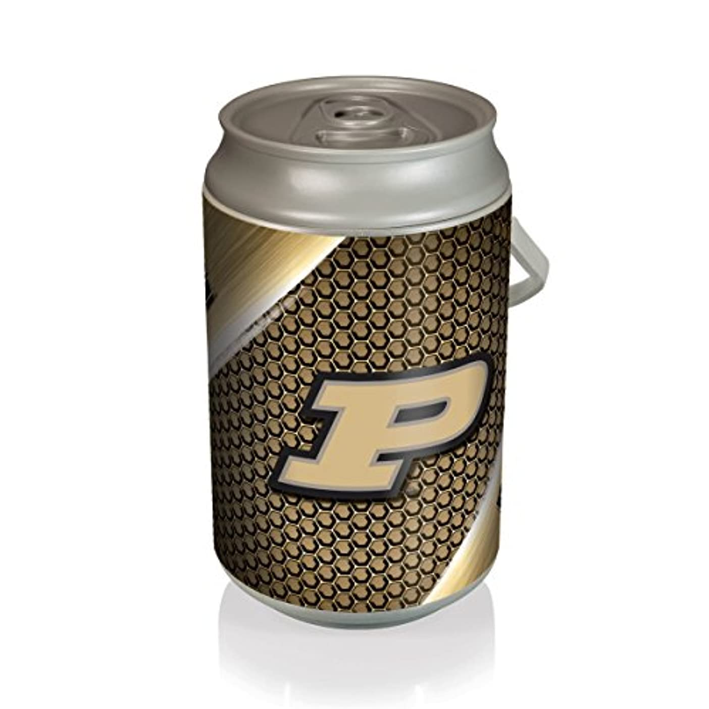 兵隊周波数火山学NCAA Purdue Boilermakers Mega Can Cooler、18.93 L