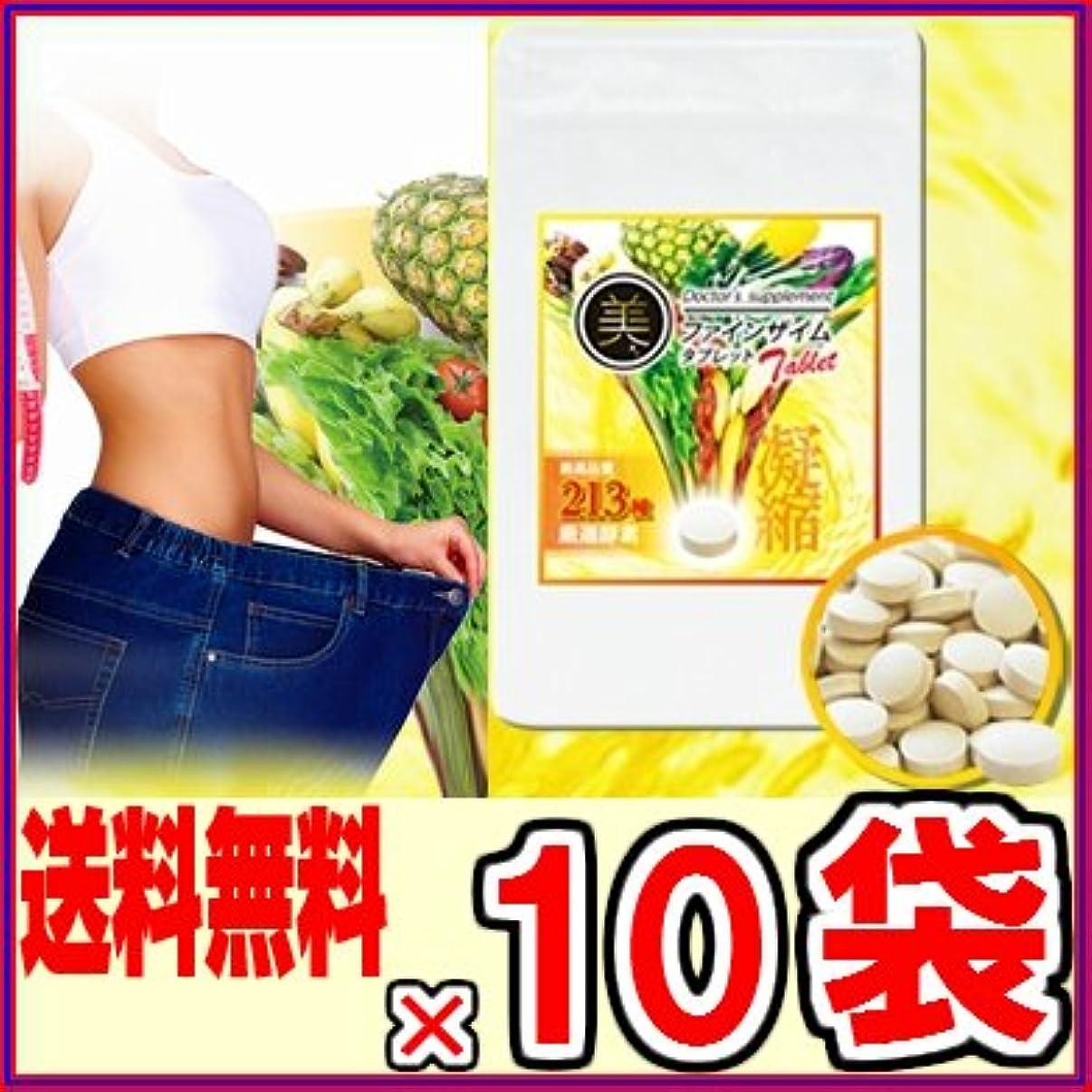 反逆掻く承認美?ファインザイム タブレット90粒 ×超お得10袋セット《酵素、ダイエット、エステ、213種酵素、酵素ダイエット、マイクロ、リコピン、レスベラトロール》