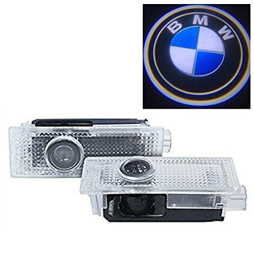 BMW カーテシ LED レーザーロゴライト #002T アンダースポット/ドアレーザーライト / カーテシライト 配線不要/純正交換タイプ