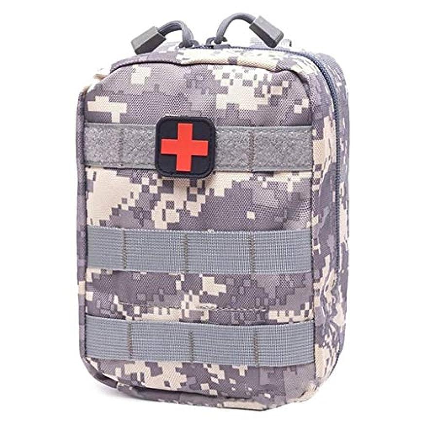 メッセンジャー雄弁な発行JJJJD 屋外の救急箱旅行オックスフォードの布のウエストのパック、キャンプの上昇の緊急事態袋