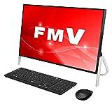 富士通 デスクトップパソコン FMV ESPRIMO FHシリーズ WF1/C2 (Windows 10 Home/23.8型ワイド液晶/Core i7/16GBメモリ/約3TB HDD/スーパーマルチドライブ/Office Home and Business 2016/ブラック) AZ_WF1C2_Z765/富士通WEB MART専用モデル